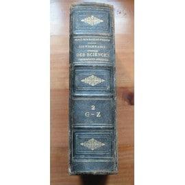 Dictionnaire G�n�ral Des Sciences Th�oriques Et Appliqu�es - 2�me Partie (G-Z) de Privat-Deschanel / Focillon