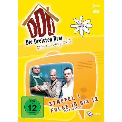 Die Dreisten Drei - Staffel 1, Folge 10-12 - DVD Zone ALL