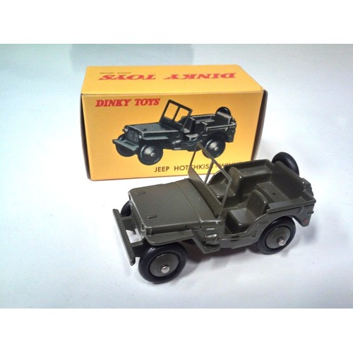 dinky toys atlas jeep hotchkiss willys militaire norev voiture miniature 80b. Black Bedroom Furniture Sets. Home Design Ideas