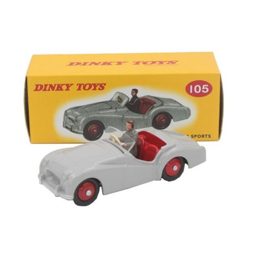 dinky toys atlas triumph tr2 sports ref 105 atlas neuf et d 39 occasion. Black Bedroom Furniture Sets. Home Design Ideas