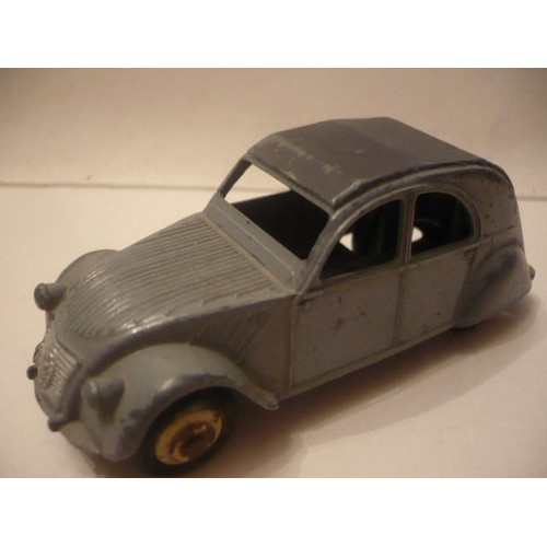 dinky toys citroen 2cv made in france meccano neuf et d 39 occasion. Black Bedroom Furniture Sets. Home Design Ideas