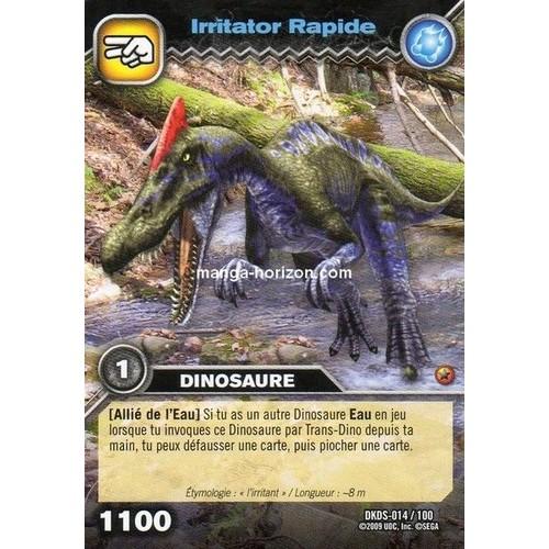 dinosaure king irritator rapide