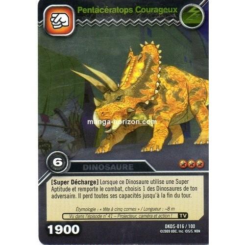 Dinosaure king pentaceratops courageux neuf et d 39 occasion - Carte dinosaure king ...