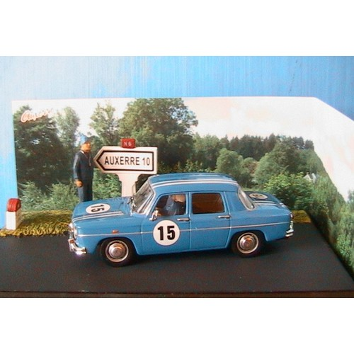 diorama renault 8 gordini 15 bleu joigny auxerre ixo altaya 1 43 la route bleue. Black Bedroom Furniture Sets. Home Design Ideas