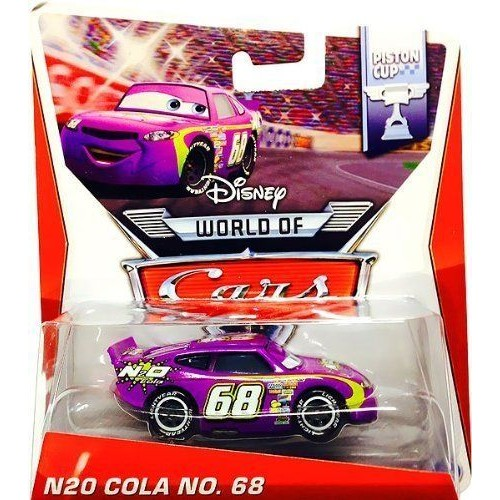 disney pixar cars n2o cola 68 piston cup series 2 of 16 voiture miniature echelle 1 55. Black Bedroom Furniture Sets. Home Design Ideas