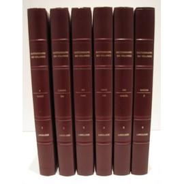 Dictionnaire Larousse Six Volumes En Couleurs de Distribution France Larousse