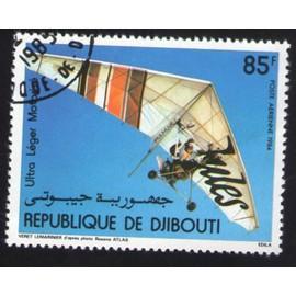 Djibouti 1984 Oblit�r� Rond Used Stamp Deltaplane Ultra L�ger Motoris�