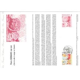 Document Philatelique Officiel N�10-84 - Pierre Bonnard 1867-1947