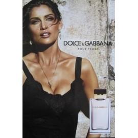 dolce gabbana pour femme publicit de parfum dol14. Black Bedroom Furniture Sets. Home Design Ideas