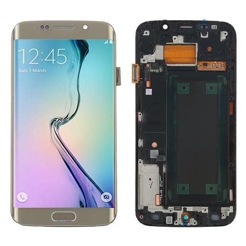 Dor complet cran lcd vitre tactile ch ssis pour for Samsung s6 photo ecran