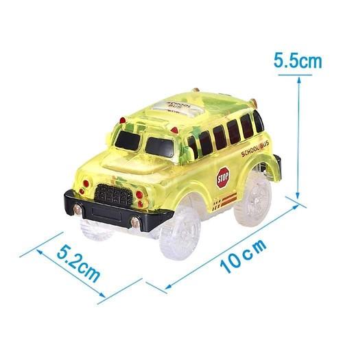 Flexible Pour Circuit Scolaire Lumineuse Magique Voitures Bus Tracks Lumineuxjaune rQshdCt