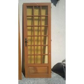 double portes int rieures vitr es pas cher priceminister rakuten. Black Bedroom Furniture Sets. Home Design Ideas