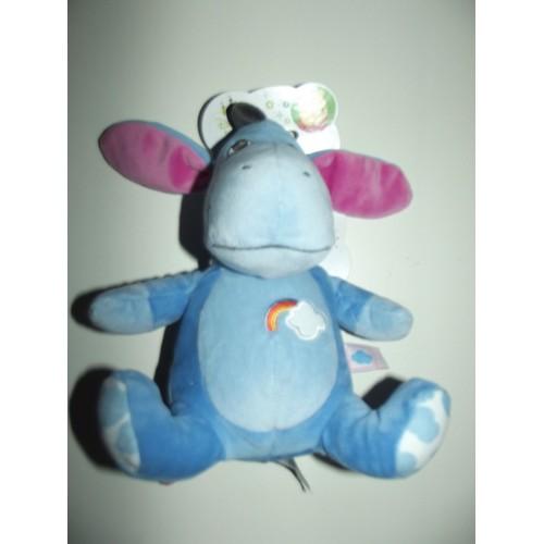 Disney Benelux Bouriquet Âne Baby Nicotoy Simba Toys Bleu Doudou wZiuTkXOP