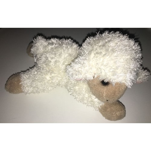 Doudou mouton agneau brebis allonge maison du monde peluche jouet bebe naissance - Peau de mouton maison du monde ...