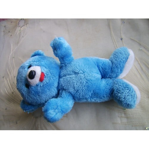 Doudou ours bleu nestle achat vente de jouet rakuten - Tchoupi l anniversaire de doudou ...