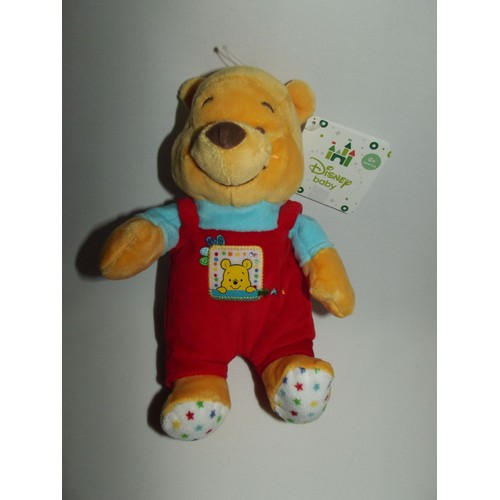 Doudou Ours Winnie L\'ourson Nicotoy Disney Baby Tex Baby Carrefour ...