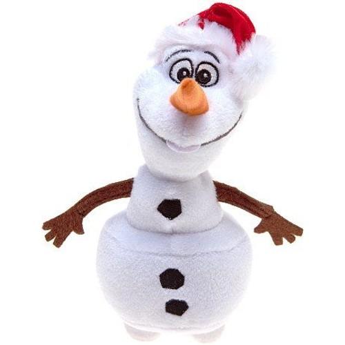 Doudou peluche olaf bonhomme de neige de la reine des - Reine des neige olaf ...