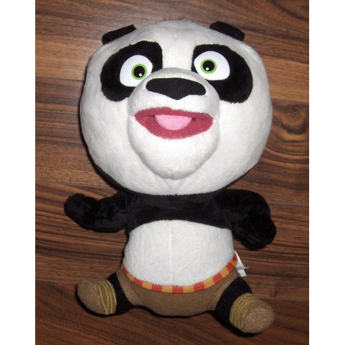 doudou peluche panda kung fu panda big headz dreamworks neuf. Black Bedroom Furniture Sets. Home Design Ideas