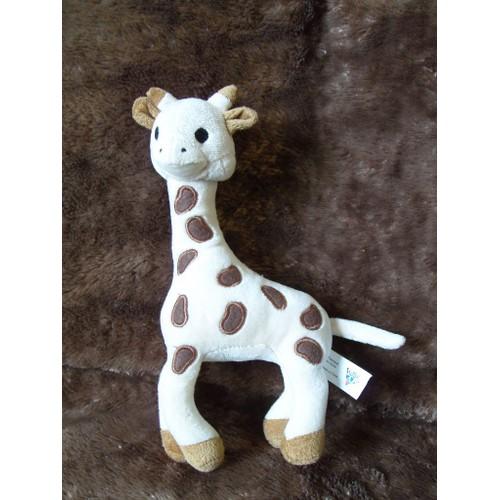 doudou peluche sophie la girafe vulli 26 cm neuf et d 39 occasion. Black Bedroom Furniture Sets. Home Design Ideas