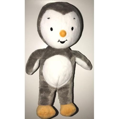 Doudou peluche t 39 choupi plage jemini 2014 peluche jouet enfant b b sans short maillot de bain - Dessin anime les pingouins ...
