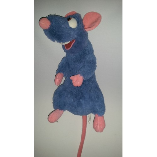 doudou rat remy du fim dessin anim ratatouille disneyland resort paris bleu rose saumon disney. Black Bedroom Furniture Sets. Home Design Ideas