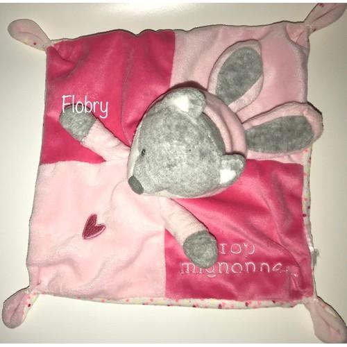 632c4c0b892 Doudou Renard Capuche Lapin Trop Mignonne Rose Coeur Simba Toys Benelux  Jouet Bebe