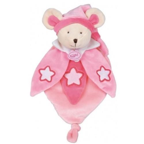 Doudou souris luminescent rose babynat peluche brille dans - Code promo collectionnez les etoiles frais de port gratuit ...