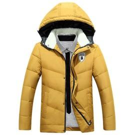 6265681365c1 Blouson Manteau Hiver Doudoune A Amovible La Mode Capuche Avec Homme 5qwnER8