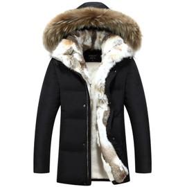 doudoune homme mode mi longue chaud doudoune homme hiver marque manteau homme. Black Bedroom Furniture Sets. Home Design Ideas