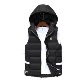 d09fc3e25fa doudoune-sans-manche-homme-mode -loisir-moyen-fermeture-eclair-conception-automne-hiver-pas-de-shirt-manteau-homme-hiver-couleur-unie-epaississant- vetement- ...