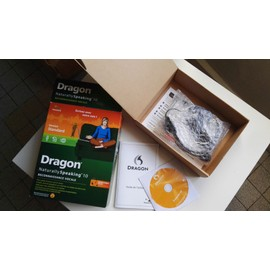 Dragon Naturallyspeaking Standard V 10 Version Boîte 1
