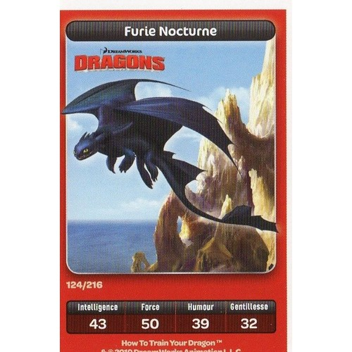 Dragons furie nocturne n 124 collection dreamworks - Dragons furie nocturne ...