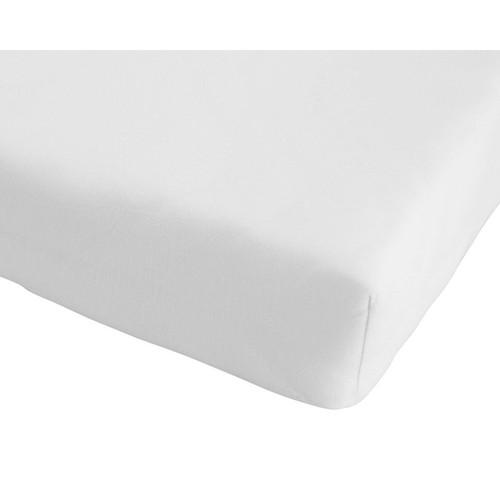 drap housse tex 140x190 blanc achat et vente. Black Bedroom Furniture Sets. Home Design Ideas