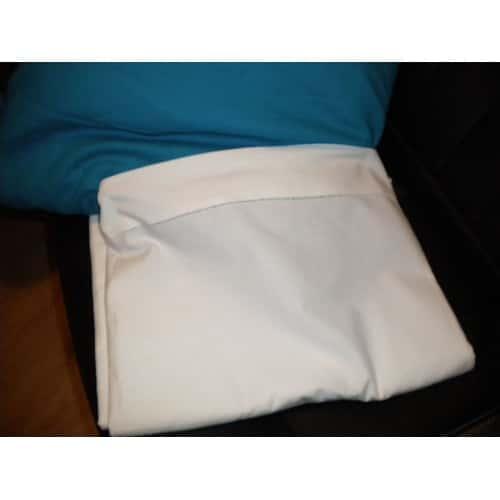 drap plat ancien blanc avec feston ajour coton lit 1 personne env 155 cmx240cm. Black Bedroom Furniture Sets. Home Design Ideas
