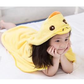 Drap serviette de douche sortie de bain pour enfant for Peignoir piscine