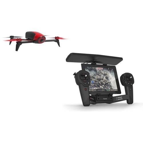 drone parrot bebop 2 rouge skycontroller parrot neuf et d 39 occasion. Black Bedroom Furniture Sets. Home Design Ideas