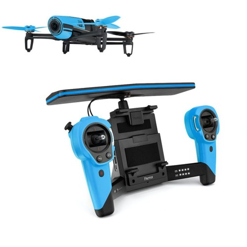drone parrot bebop bleu skycontroller parrot neuf et d. Black Bedroom Furniture Sets. Home Design Ideas