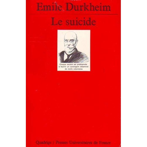 emile durkheim le suicide Le suicide by emile durkheim, 9781514325117, available at book depository with free delivery worldwide.
