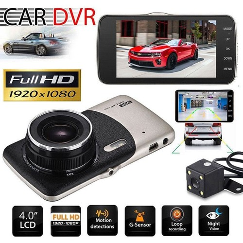 dvr 4 voiture dash cam ra avant arri re vid o enregistreur 1080 p 170 degr s hd voiture dvr. Black Bedroom Furniture Sets. Home Design Ideas