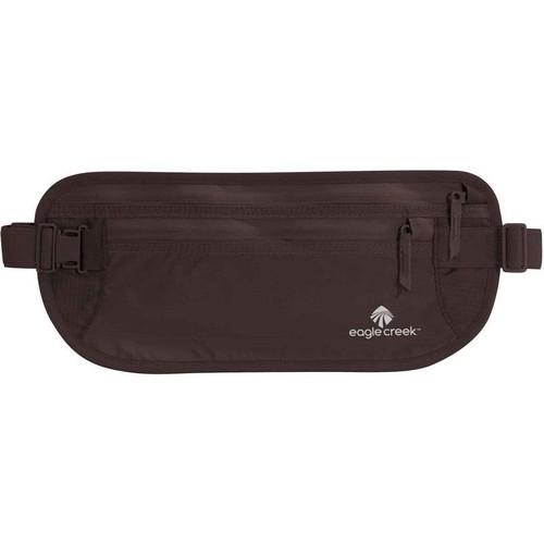 Eagle Creek Flache Bauchtasche Hüfttasche Undercover Money Belt DLX Geldgürtel für Sport und Reisen Ceinture de voyage, 29 cm, Marron (Mocha)