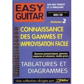 Easy Guitar Vol.2 Gammes Et Impro + Cd