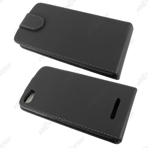 Ebeststar coque housse etui simili cuir rabattable pour for Housse wiko lenny 2