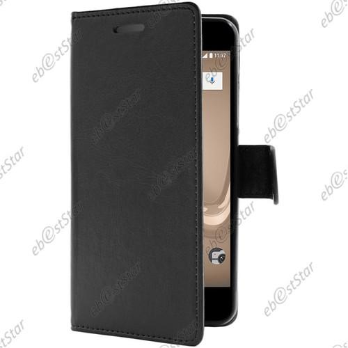 ebeststar etui portefeuille housse coque protection folio book livre pour wiko tommy 2. Black Bedroom Furniture Sets. Home Design Ideas