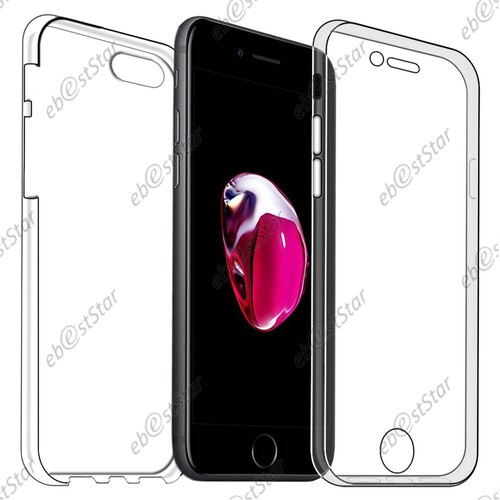 coque iphone 8 avant arriere silicone