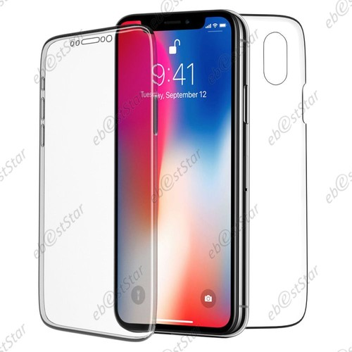 coque protection avant arriere iphone x