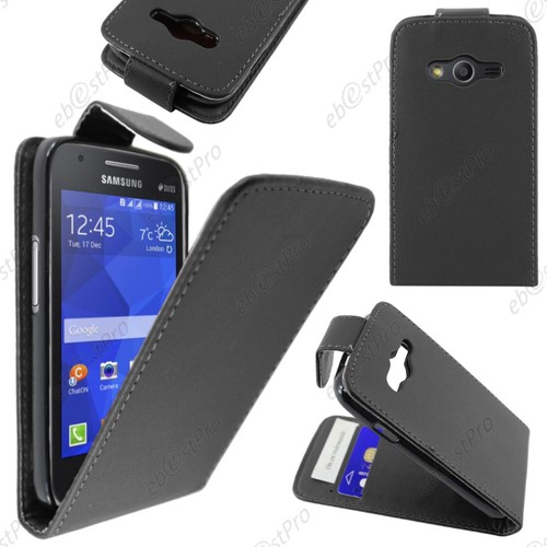 Ebeststar housse coque etui simili cuir rabat vertical - Samsung galaxy trend lite appareil photo ...