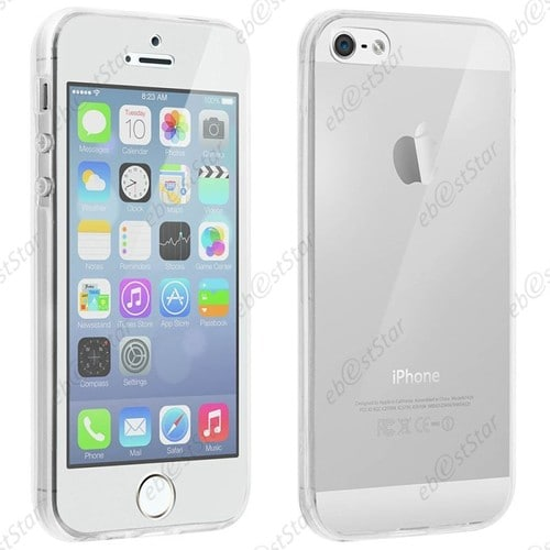 coque iphone 5 silicone avant arriere