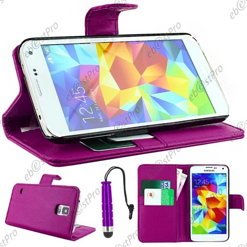 Ebeststar housse etui coque portefeuille simili cuir for Housse samsung galaxy s5