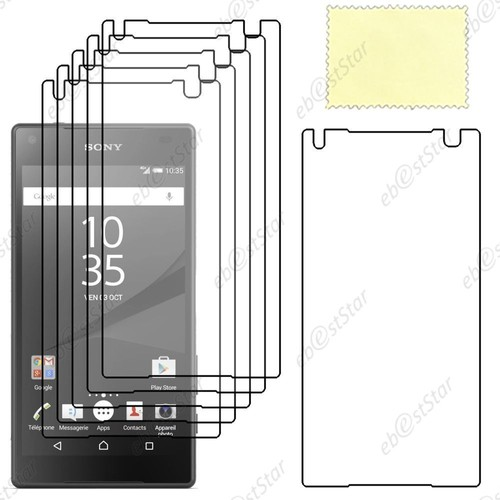ebeststar lot x6 film protection d 39 cran anti rayures protecteur transparent pour sony xperia. Black Bedroom Furniture Sets. Home Design Ideas