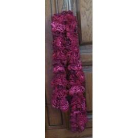 Echarpe Rouge Fa�on Crochet